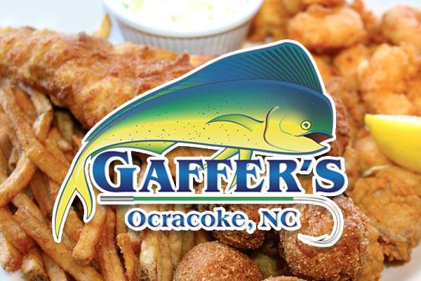 Gaffer's Restaurant on Ocracoke Island