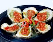 Misty Point Grilled Oysters - Dajio Restaurant
