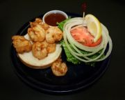 Fried Seafood Sandwich - Howard's Pub