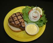 Grilled Teriyaki Tuna Sandwich - Howard's Pub