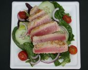 Sesame Seared Ahi Salad - Jolly Roger Pub & Marina Ocracoke