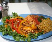 Tropical Island Chicken - Jolly Roger Pub & Marina