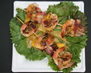 Shrimp Skewers - Jolly Roger Pub & Marina