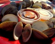 Steamed Clams - Jolly Roger Pub & Marina