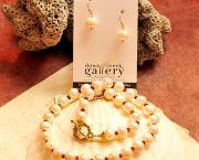 Freshwater Pearls & Garnet - Down Creek Gallery