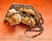 Hand Knotted Silk Necklace - Down Creek Gallery