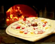 Wood-Fired Brick Oven Flatbread Pizza - Dajio Restaurant