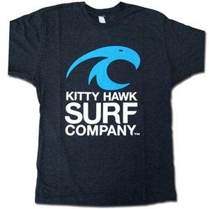 Kitty Hawk Surf Co., Kitty Hawk Surf Co.Tri-Blend Vintage Mens Crew Tee