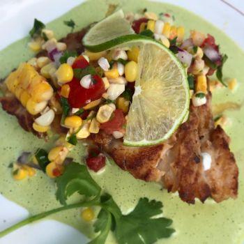 Back Porch Restaurant, Pan Seared Grouper