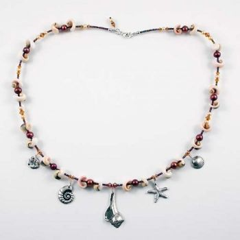 Ride The Wind Surf Shop, Handmade Sea Life Necklace