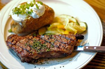 Jason's Restaurant, 12oz. Ribeye Steak