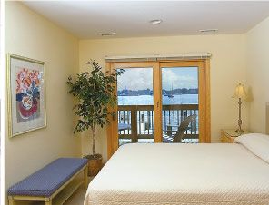 Bedroom in a suite at Captain's Landing