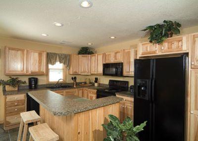 Kitchen in Captain's Cottage at Captain's Landing