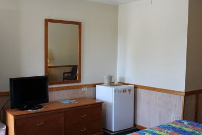 All rooms at Pony Island Motel have small refrigerators