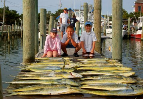 Fish Ocracoke, 3/4 Day Offshore Fishing Charter