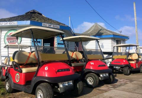 Ocracoke Island Golf Carts, Rent a Golf Cart in Ocracoke