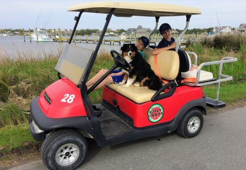 Ocracoke Island Golf Carts, Family-Friendly Golf Cart Rentals